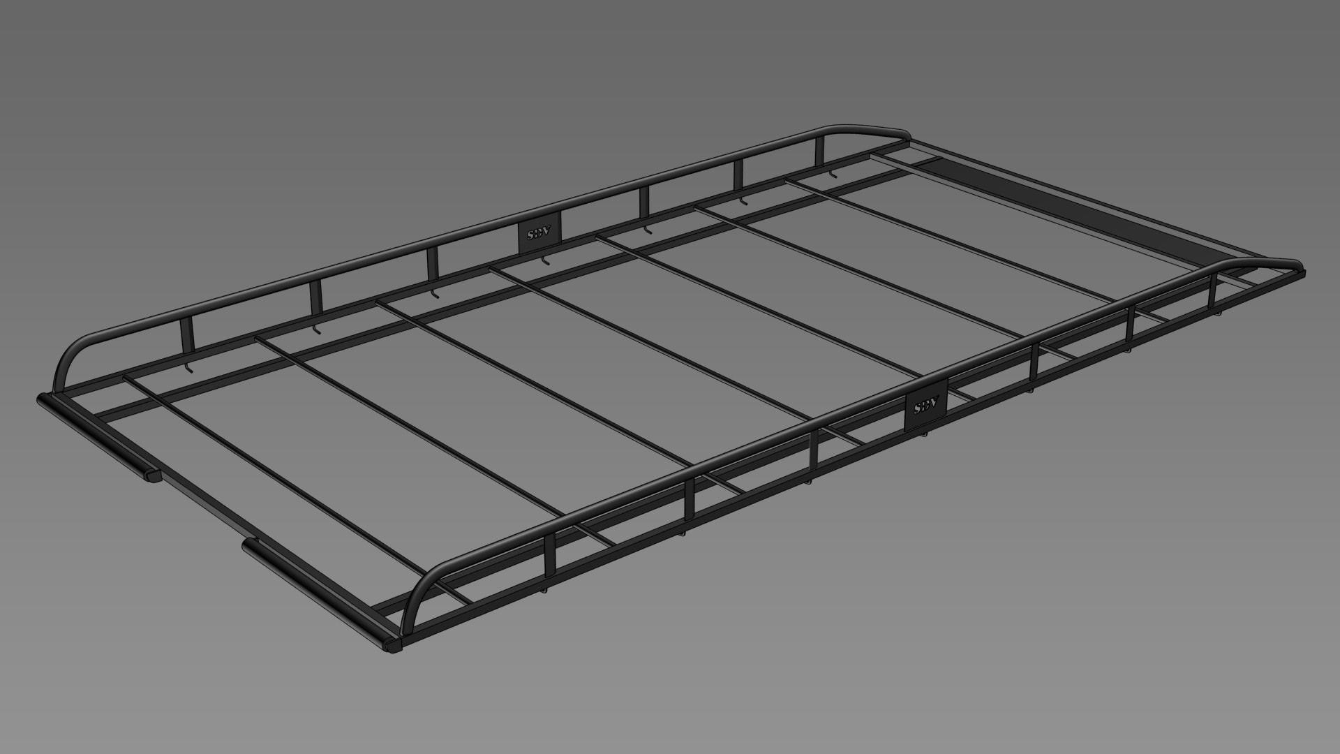Van Roof Racks >> SDV Roof Racks | Heavy Duty Galvanised Steel Roof Racks, North West UK