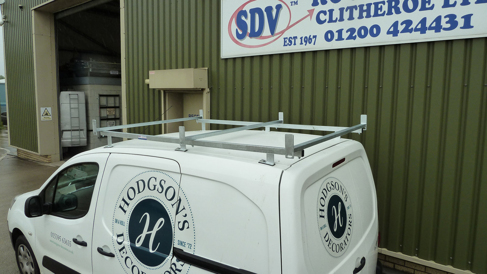 Sdv Roof Racks Tuff Bars Modular Galvanised Roof Bars